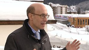 """Kenneth Rogoff in Davos: """"Ich bin fantastisch - das wird Trumps zentrale Botschaft"""""""