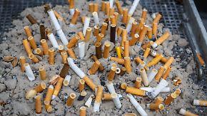 Herzerkrankungen und Schlaganfälle: Schon eine Zigarette täglich schadet der Gesundheit