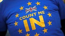 Zweites Referendum zum Brexit?: Mehrheit der Briten will erneut abstimmen