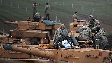 Militäroffensive in Syrien: Türkei fordert Rückzug von US-Truppen
