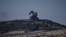 Truppen rücken in Syrien vor: Türkei meldet Eroberung von Berg Barsaja