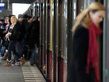Auch die Berliner S-Bahn ist stark frequentiert.