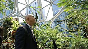 Neues Hauptquartier in Seattle: Amazon eröffnet Dschungel-Büros in Glaskugeln