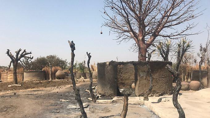 Das Dorf Kodomti wurde im Dezember von Nomaden angegriffen.