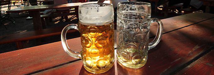 """Brauereien dürfen für ihre Biere mit einer Vielzahl von Eigenschaften wie etwa """"süffig"""", """"herzhaft"""" oder """"würzig"""" werben - nicht aber mit dem Begriff """"bekömmlich""""."""