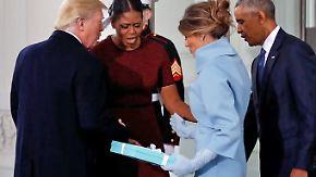 Promi-News des Tages: Michelle Obama verrät Abschiedsgeschenk der Trumps