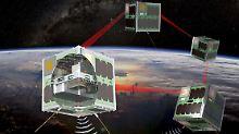 Aufbau eines neuen Netzwerks: Rakete setzt Berliner Nano-Satelliten aus