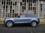 Die pure Eleganz eines Range Rover Velar lässt sich am Besten von der Seite erkennen.