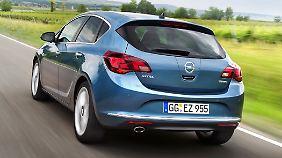 Ein Raumwunder ist der Opel Astra J nicht.