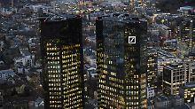 Wieder rote Zahlen: Anleger rupfen Deutsche-Bank-Aktie