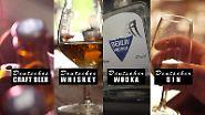 Ratgeber - Reportage: Thema u.a.: Gin, Whisky, Wodka und Craftbeer