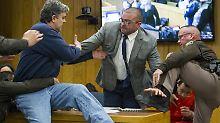 Der Sport-Tag: Prozess gegen US-Turnarzt: Vater entschuldigt sich für Attacke