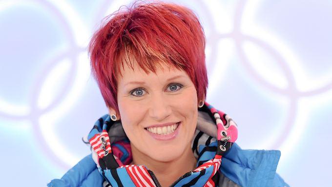 Kati Wilhelm wird in Pyeongchang als TV-Expertin vor Ort sein.