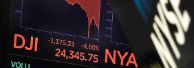 Angst vor Zinserhöhung: US-Börse sucht nach Crash-Gründen