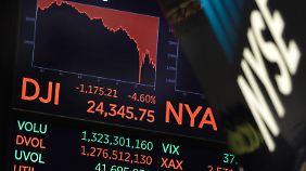 Knacks im Aufwind: US-Börse sucht nach Crash-Gründen