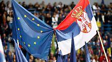 Warnung vor Instabilität: EU öffnet Westbalkanländern die Tür