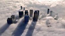 London im Nebel.