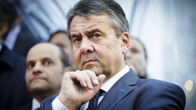 Steht vor einer ungewissen Zukunft: Ex-SPD-Chef Gabriel.