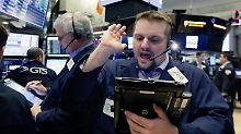 Nervosität lässt nach: US-Börsen schließen im Minus