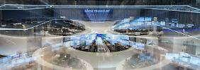 Der Börsen-Tag: 17:38 Neuer Börsen-Schock - Dax fällt mehr als 300 Punkte