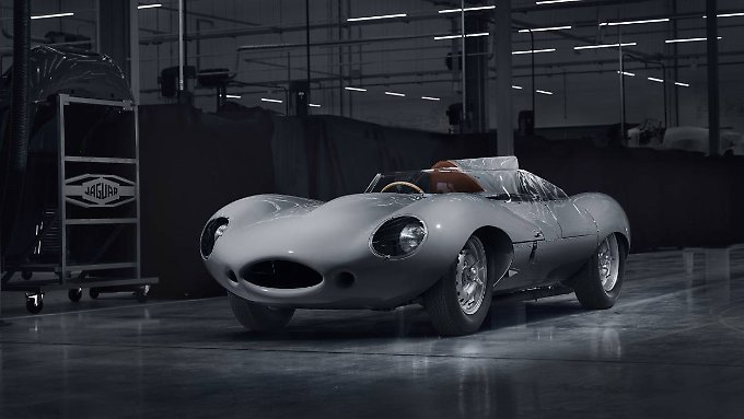 25 Exemplare des D-Type sind in Planung.