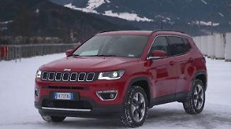 Stilvoller Kraftprotz mit Offroad-Genen: Jeep Compass überzeugt trotz kleiner Makel