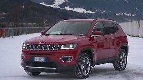 Stilvoller Kraftprotz mit Offroad-Genen: Jeep Compass überzeugt trotz kleiner Makel
