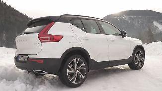 Mit Thors Hammer durch Eis und Schnee: Volvo XC40 will deutscher Konkurrenz davondüsen