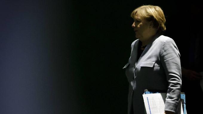 Womöglich die einzige Ostdeutsche in der neuen Bundesregierung: Kanzlerin Merkel.