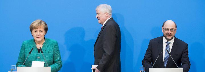 Ressortsverteilung und ein Übergangener: CDU hadert, CSU ist glücklich, SPD sahnt ab