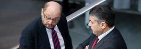 """Kritik an """"respektlosem"""" Umgang: Gabriel geht hart mit Schulz ins Gericht"""