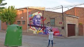 """""""Mehr Bilder als Straßen"""": Graffiti-Künstler aus aller Welt verewigen sich in spanischem Dorf"""