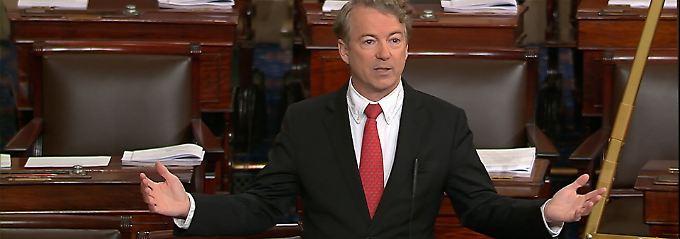 Ein Senator stellt sich quer: USA vor Mini-Shutdown