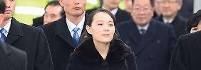 Zum Start der Winterspiele: Kims Schwester trifft in Südkorea ein