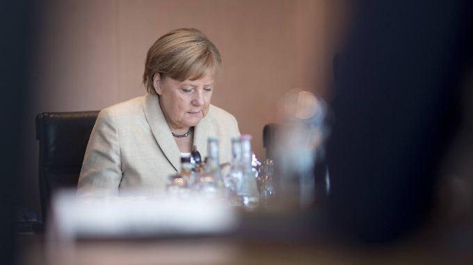 Angela Merkel steht in der eigenen Partei in der Kritik.