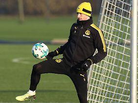 Training mit Ball: Marco Reus.