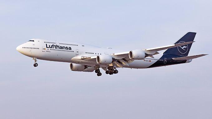 Die Zahlen der Lufthansa entwickeln sich gut.