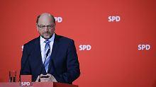 Lieber ein Ende mit Schrecken als ein Schrecken ohne Ende: Martin Schulz.