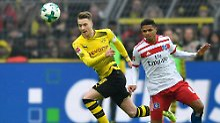 Keine Gewinner im Abstiegskampf: BVB siegt mit Reus, Bayer patzt gegen Berlin