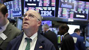Talfahrt an den Börsen: Gute US-Arbeitsmarktdaten verantwortlich für Kursabfall