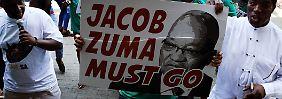 Südafrikas Präsident vor dem Aus: ANC soll Zumas Abgang beschlossen haben