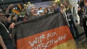 Medaillenregen am dritten Wettkampftag: Olympiahelden versetzen Deutsches Haus in Partylaune