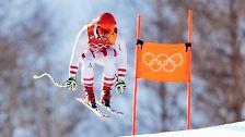 Der Abfahrtsspezialist holt Gold in der Alpinen Kombination, auch wenn ...