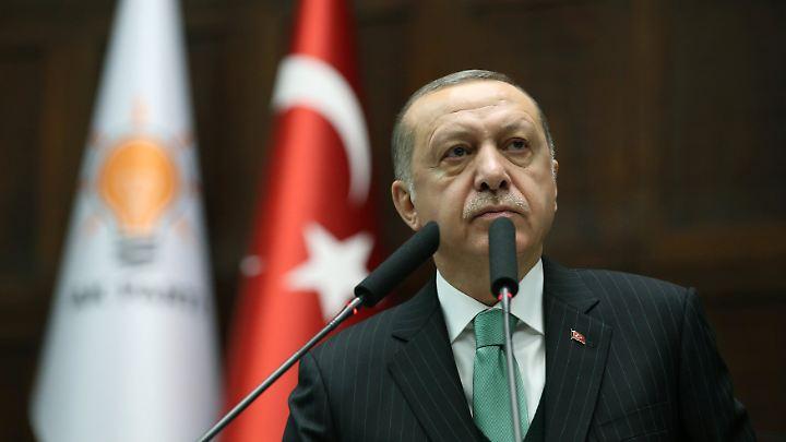 Der türkische Staatspräsident Recep Tayyip Erdogan.