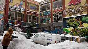 "So sah es aus in ""5Pointz""."