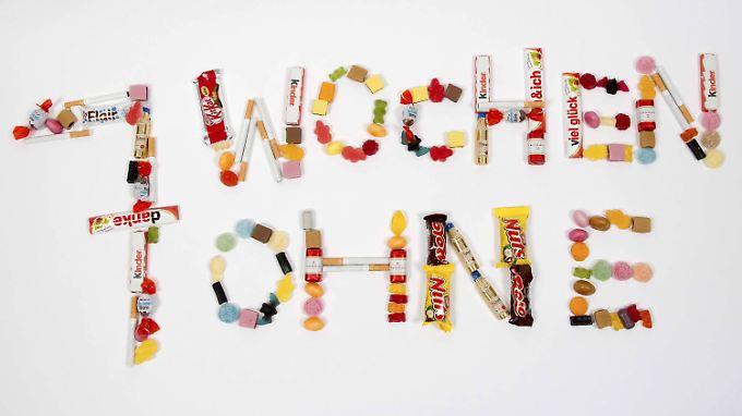 """Beim Wort """"Fasten"""" denken die meisten Menschen direkt an Süßigkeiten."""
