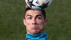 Keine Angst Ronaldo, es wird bestimmt alles gut gehen.