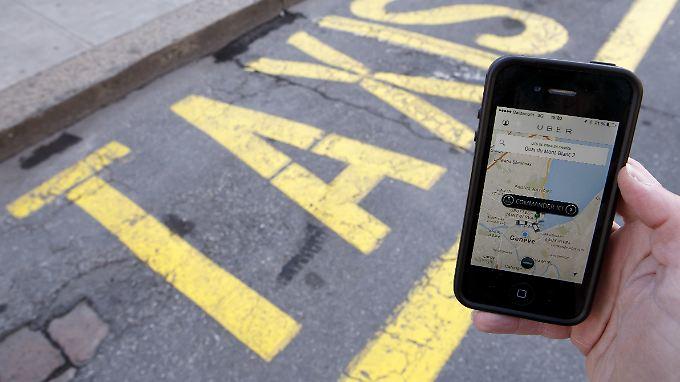 Uber ist dem Taxigewerbe ein Dorn im Auge.