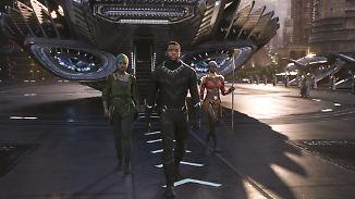 """Rekordverdächtiger Marvel-Film: """"Black Panther"""" bringt schwarze Superhelden auf die Leinwand"""