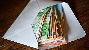 Liebe zu Scheinen und Münzen: Bargeld steht in Deutschland weiter hoch im Kurs